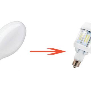 Substitut Lampes à décharge